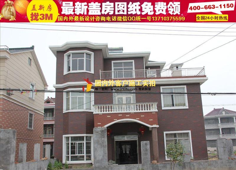 青海农村房屋设计图100平经济型|20万农村小别墅设计