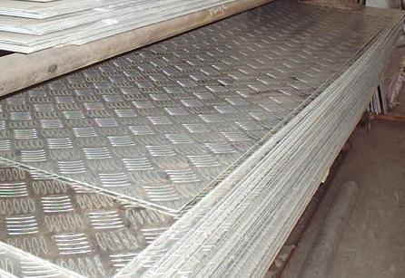防滑花纹铝板 5052抛光铝板 镜面铝板