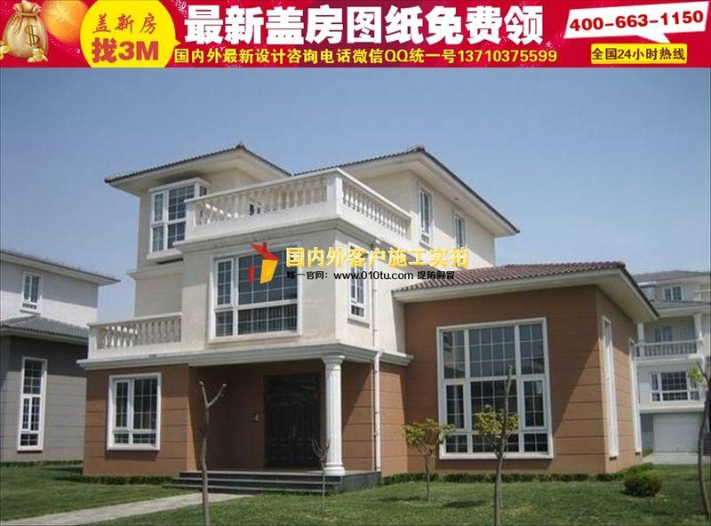 蚌埠农村小别墅设计图纸|农村盖房子设计图纸