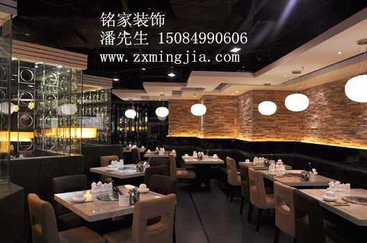 湖南株洲湘潭自助烧烤店装修设计,韩式烧烤店装潢装饰