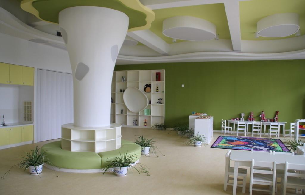长沙经开区幼教装修设计,幼儿培训机构装潢装饰设计首选铭家装饰