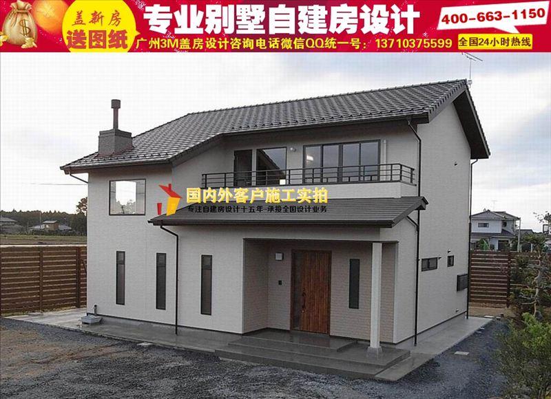 河南100平农村平房设计图大全|造价15万农村房子图片