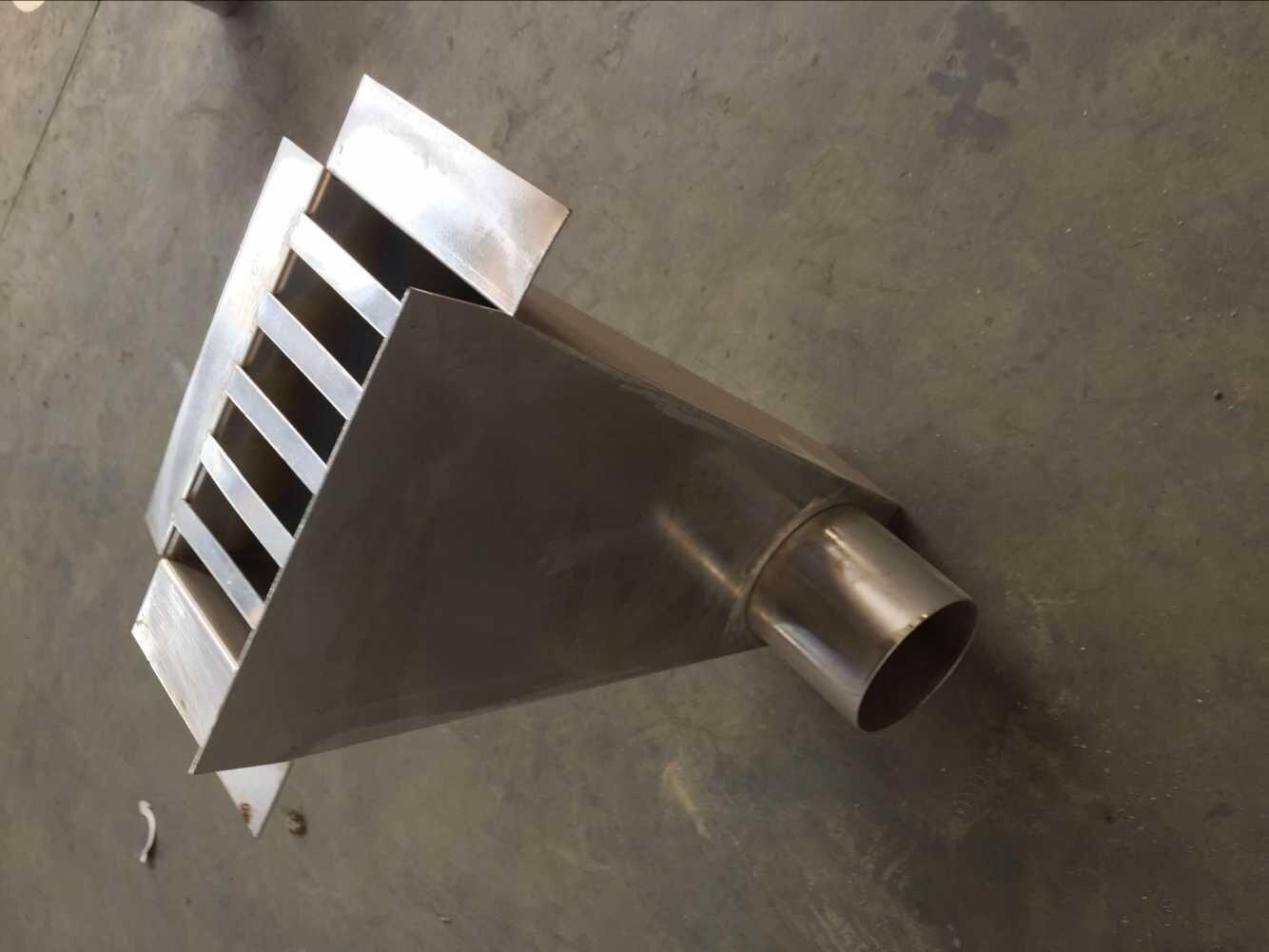 安徽87型不锈钢雨水斗 圆形侧入式铸雨水斗图片