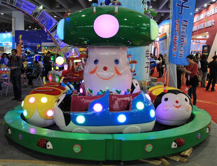 儿童游乐设备丨广场小孩子玩的瓢虫乐园