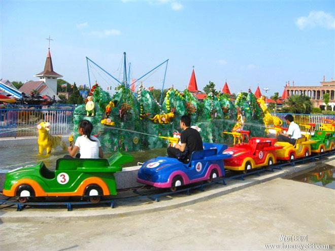 儿童游乐设备厂(游乐园指定厂家)水路战车游乐设备