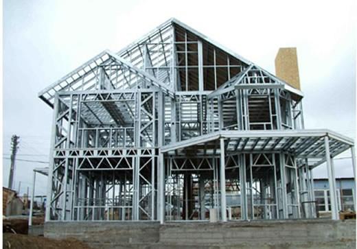 环保性能   轻钢结构房屋不使用粘土砖,符合土地资源政策,施工过程中