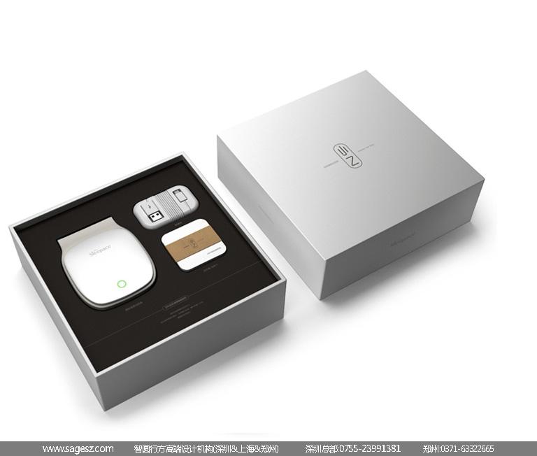 医疗电子产品包装设计|仪器包装设计|睡眠仪包装设计图片