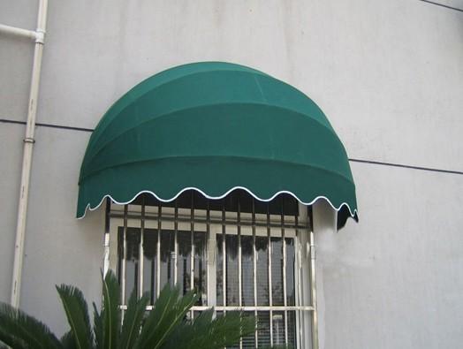吴江欧式咖啡蓬弧形雨蓬遮阳蓬圆弧西瓜蓬上门服务
