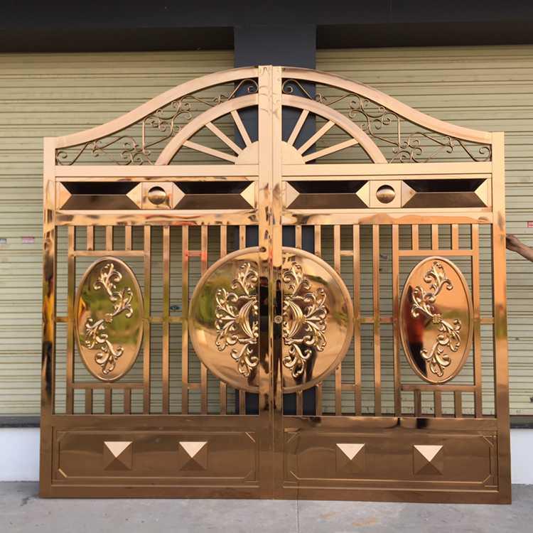 庭院拉丝不锈钢墙门围食品,免费有机孕婴镀铜图片