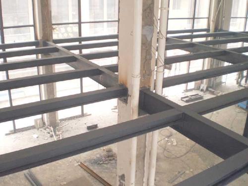 北京专业搭建钢结构二层阁楼隔层挑高底商夹层