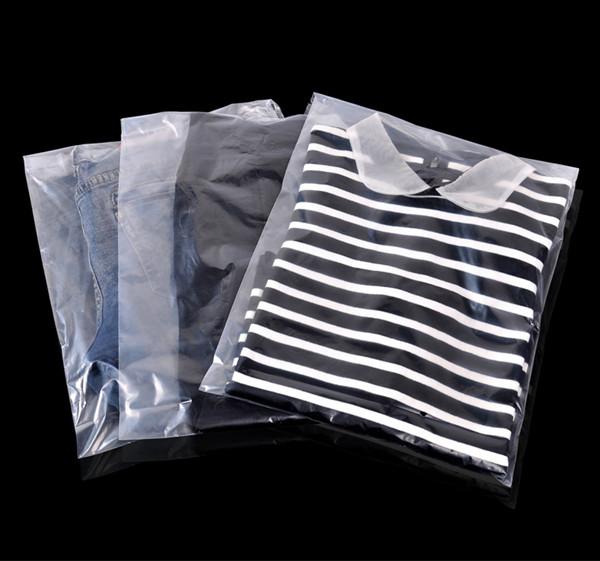 批量生产pe平口袋服装包装袋塑料袋