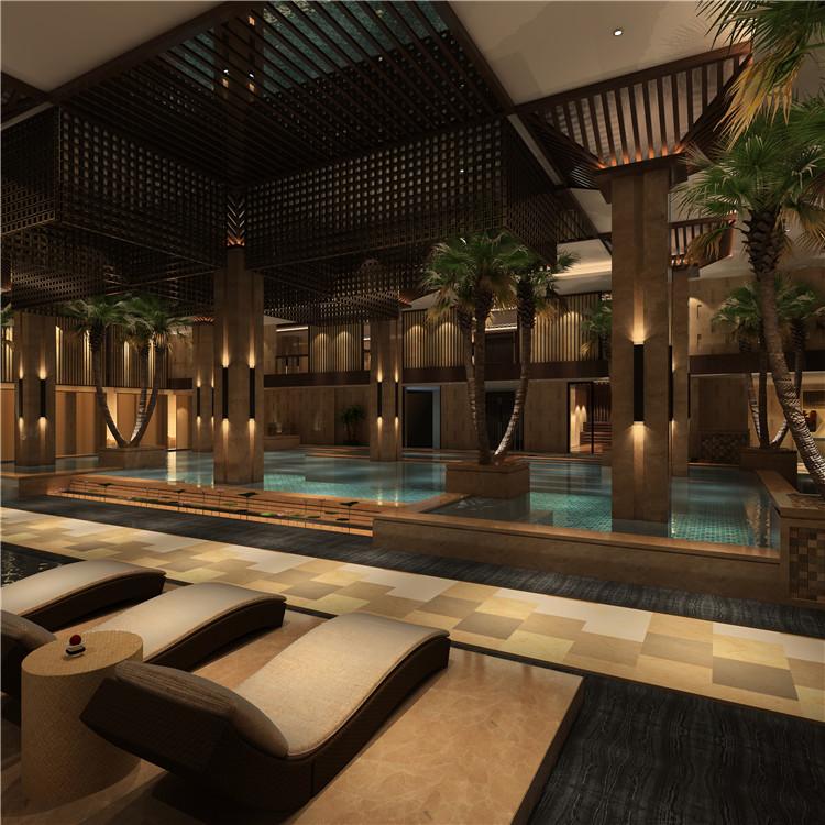 西安专业桑拿洗浴酒店装修设计公司