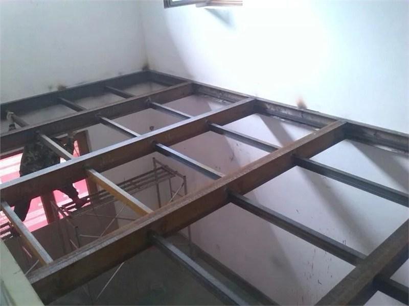 苏州钢结构夹层阁楼钢结构支架制作安装搭建