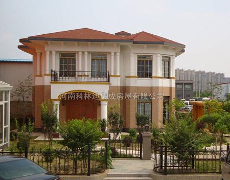 河南科林迪集成房屋,生产轻钢别墅,移动房屋别墅,钢结构别墅