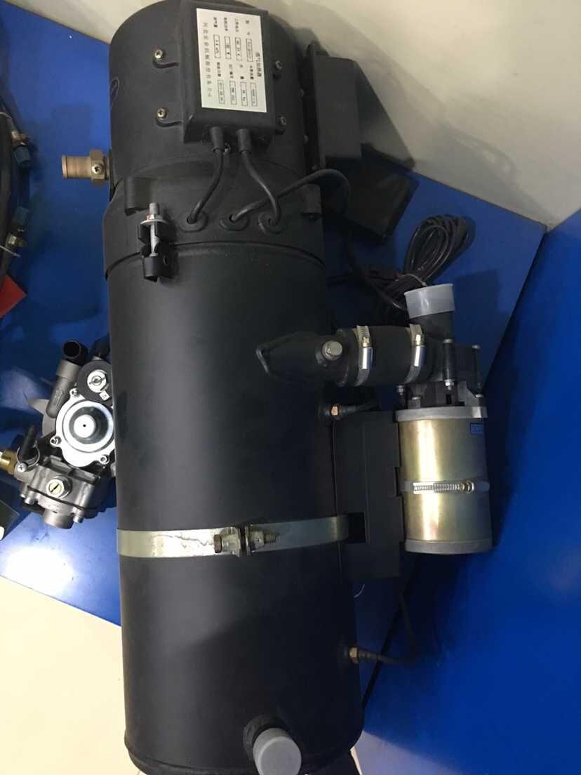 冷却液循环加热器产品 驻车加热器结构图