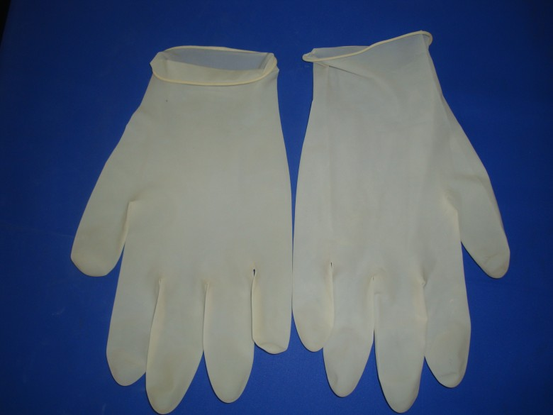 12寸一次性乳胶手套 检查手套 橡胶手套 医用手套
