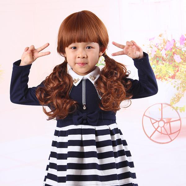 宝宝发套】儿童女童假发宝宝发套小女孩造型拍照影楼摄影假发可爱卷发