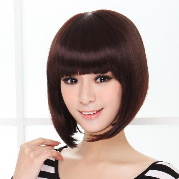 【假发】美蝶假发新款学生头假发短发女生bobo头甜美可爱型实物拍摄图片