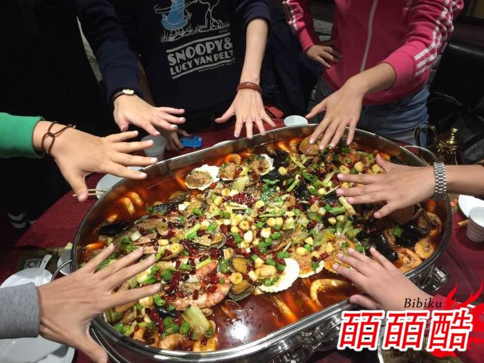 海鲜大咖锅 海鲜天下第一盘 海鲜大咖的锅 海鲜大咖盛器