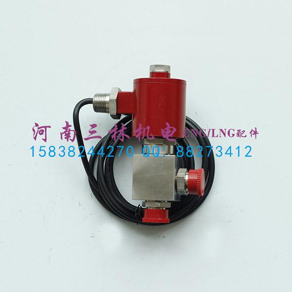 河南航天正丰电磁阀zfdf6-25 cng加气机电磁阀图片