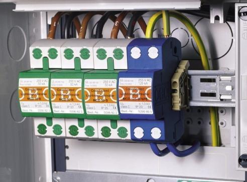 也不推荐应用在直流电路的防雷保护.
