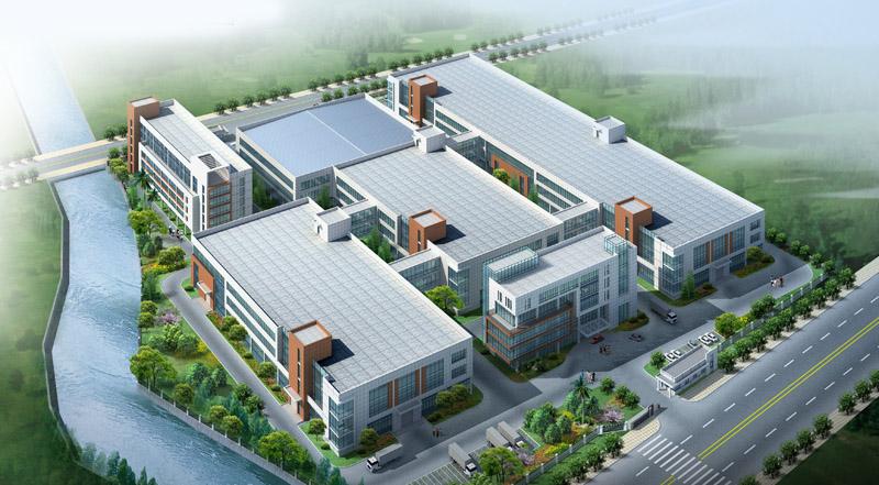 工厂效果图制作西安工厂效果图制作