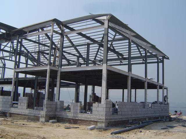 钢结构轻钢结构助力钢结构住宅