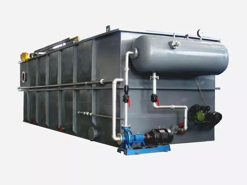 海林平流式溶气气浮机工作原理结构图纸