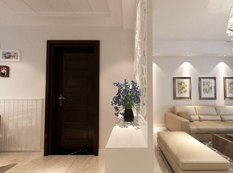 装修单位:南京一号家居 设计理念:户型比较规整,在过道上的小储藏室