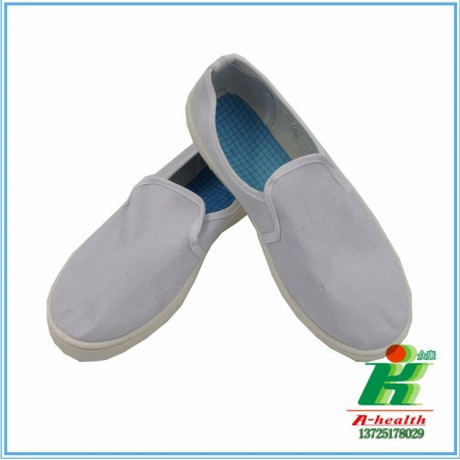 LH-122-1防静电白帆布中巾鞋linkworld