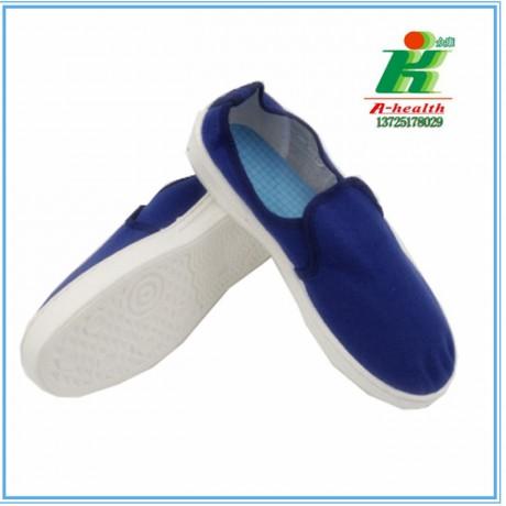 LH-122-2防静电蓝帆布中巾鞋linkworld