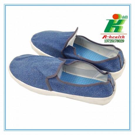 LH-122-4防静电牛仔布中巾工作鞋linkworld