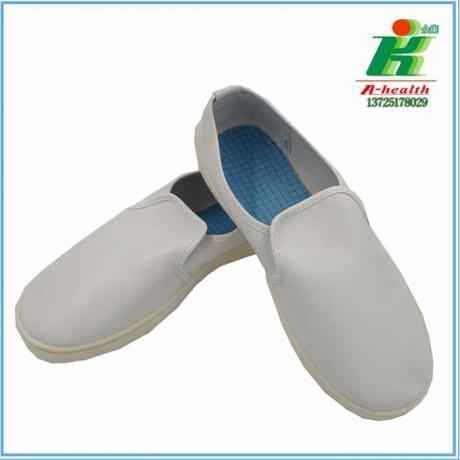 LH-122-5A防静电PVC白色皮革中巾鞋linkworl
