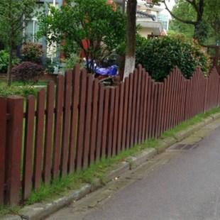 重庆栏杆实木栏杆防腐木栏杆栏杆定做栏杆安装宁精机电设备波奇有限公司图片