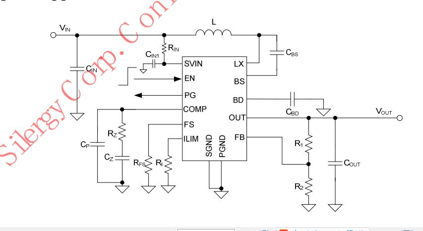 矽力杰电源管理芯片sy7315大功率升压内置1 mos管