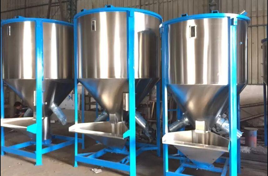 塑料工业拌料机,立式加热搅拌机,大型立式拌料机图片