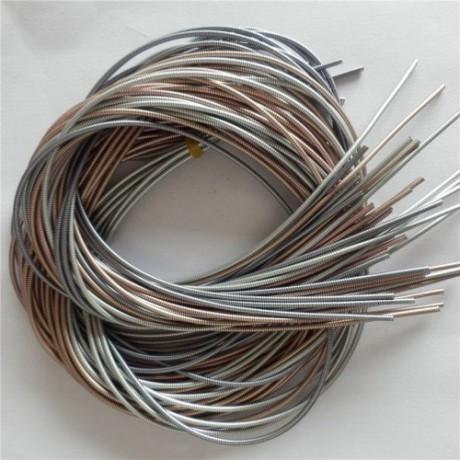 扁线数据线软管 电镀波纹管金属数据线