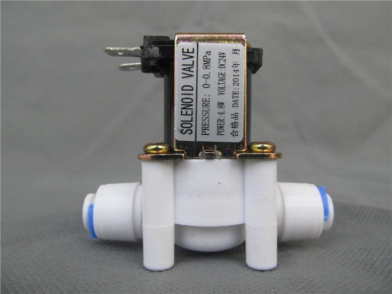 珠海批发家用净水器配件一线净水器南洋电磁阀图片