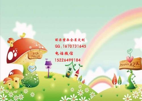 甘肃甘南幼儿园壁画游乐园墙绘