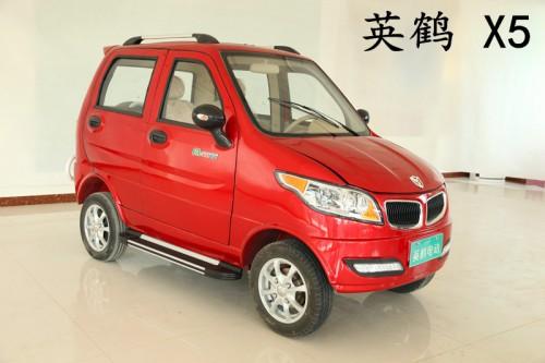 厂家直销新能源低速电动轿车 英鹤电动车