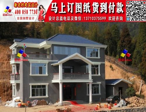图纸图片小二层农村新别墅自建房设计图K789农村v图纸消防图片
