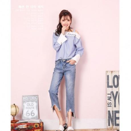 韩版爆款女装牛仔裤低价清仓厂家一手货源批发地摊便宜尾货牛仔裤