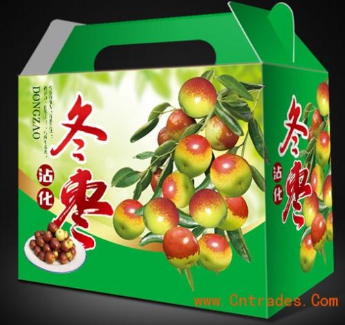 洛阳水果天地纸箱纸箱彩箱手提袋大枣盖礼品槽SD卡v水果3D