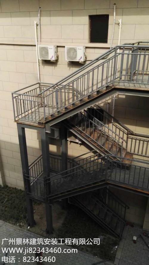 云浮钢结构消防梯供应商--云浮钢结构消防梯供混凝土方涵图纸图片