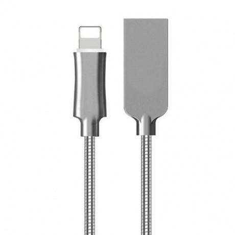 深圳USB数据线厂家批发一体锌合金外壳苹果数据线多少钱