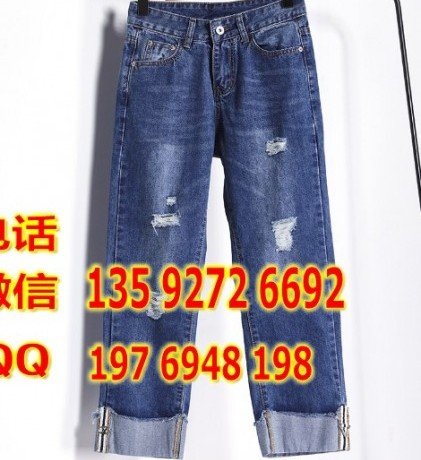 便宜弹力牛仔裤时尚韩版铅笔裤小脚裤清仓几元女士牛仔裤便宜清货