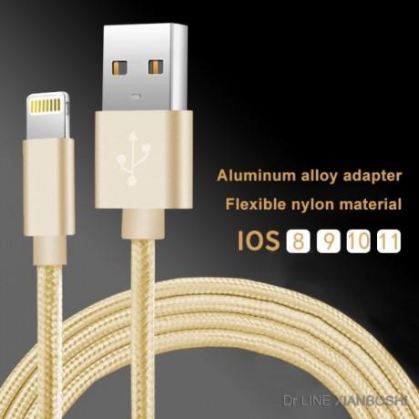 厂家直销c私模尼龙编织苹果数据线Cable