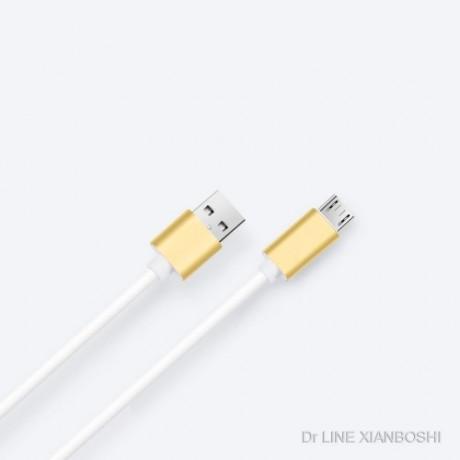 厂家直销高端私模硅胶安卓数据线Cable华为 小米 通用