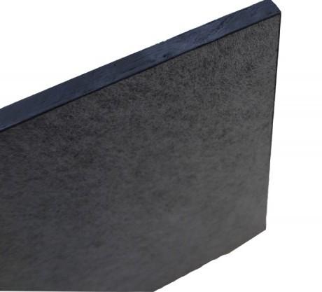 黑色玻纤吸音板 电影院吸声板 吊顶吸音材料