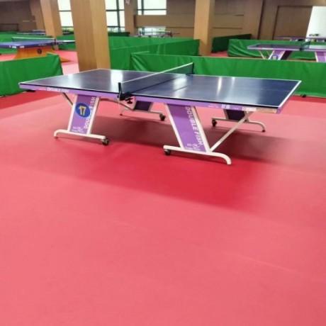 乒乓球专用地板 鹏辉运动地胶 乒乓球PVC地板